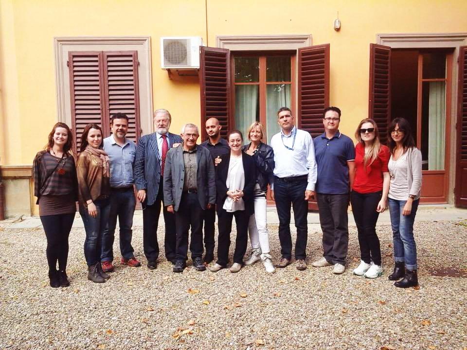 Equipe do PPGEdu, professores da Universidade de Florença e da Universidade de Roma TRE