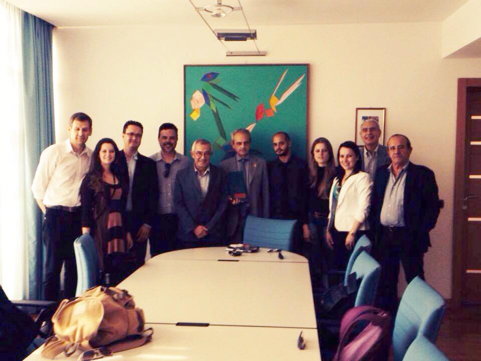 Equipe do PPGEdu, professores da Universidade de Florença e da Universidade de Roma Tres.